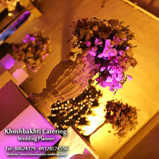 گل آرايي مراسم عروسي